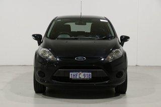 2012 Ford Fiesta WT LX Black 5 Speed Manual Hatchback.