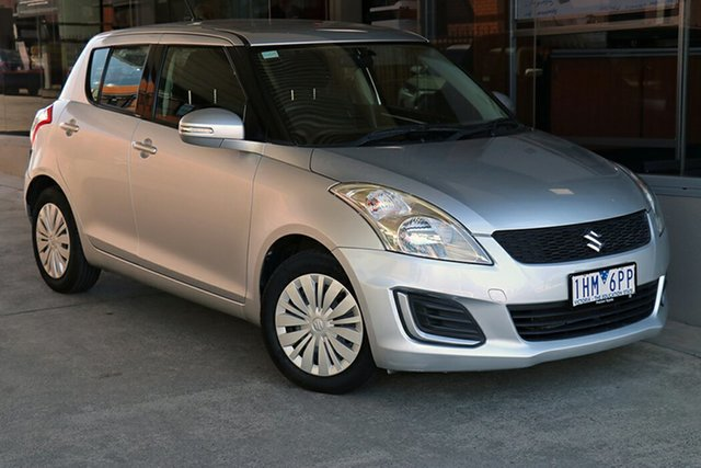 Pre-Owned Suzuki Swift FZ MY15 GL Preston, 2015 Suzuki Swift FZ MY15 GL Silver 4 Speed Automatic Hatchback