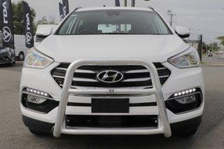 2017 Hyundai Santa Fe DM5 MY18 Active Pure White 6 Speed Sports Automatic Wagon