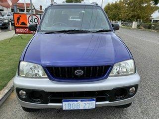2003 Daihatsu Terios SX (4x4) Green 5 Speed Manual 4x4 Wagon