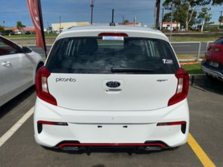 2020 Kia Picanto JA MY21 GT Clear White 5 Speed Manual Hatchback