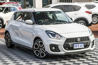 2020 Suzuki Swift AZ Series II Sport Pure White 6 Speed Manual Hatchback.