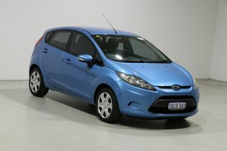 2009 Ford Fiesta WS CL Blue 5 Speed Manual Hatchback
