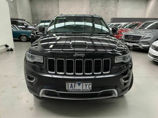2014 Jeep Grand Cherokee WK MY2014 Limited Black 8 Speed Sports Automatic Wagon.