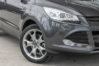 2015 Ford Kuga TF MY15 Titanium AWD Grey 6 Speed Sports Automatic Wagon.