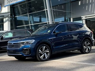 2021 Volkswagen Touareg CR MY21 210TDI Tiptronic 4MOTION R-Line Blue 8 Speed Sports Automatic Wagon.