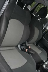 2009 Mitsubishi Colt RG MY09 VR-X Black 5 Speed Manual Hatchback
