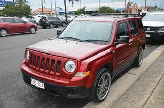 2014 Jeep Patriot MK MY14 Sport (4x2) Red 5 Speed Manual Wagon