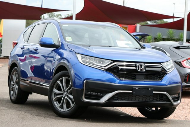 New Honda CR-V RW MY21 VTi 4WD LX AWD Newstead, 2020 Honda CR-V RW MY21 VTi 4WD LX AWD Blue 1 Speed Constant Variable Wagon
