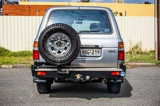 1990 Toyota Landcruiser HDJ80R GXL Silver 5 Speed Manual Wagon
