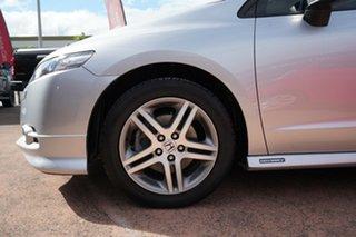 2011 Honda Odyssey RB MY11 Luxury Silver 5 Speed Automatic Wagon.