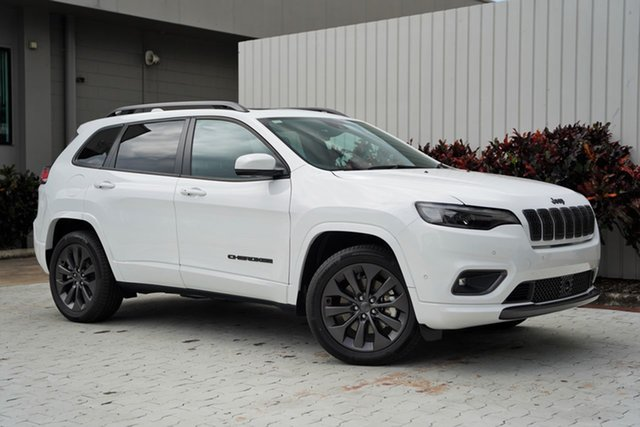 New Jeep Cherokee KL MY21 S-Limited Cairns, 2020 Jeep Cherokee KL MY21 S-Limited Bright White 9 Speed Sports Automatic Wagon