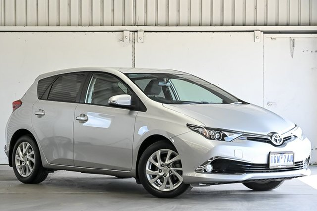 Used Toyota Corolla ZRE182R Ascent Sport S-CVT Laverton North, 2017 Toyota Corolla ZRE182R Ascent Sport S-CVT Silver 7 Speed Constant Variable Hatchback