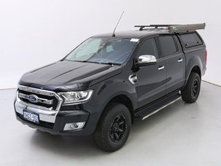 2017 Ford Ranger PX MkII MY17 XLT 3.2 (4x4) Black 6 Speed Automatic Double Cab Pick Up
