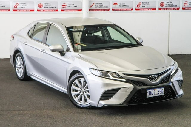 Pre-Owned Toyota Camry ASV70R MY19 Ascent Sport Rockingham, 2018 Toyota Camry ASV70R MY19 Ascent Sport Silver Pearl 6 Speed Automatic Sedan