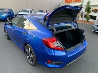 2016 Honda Civic 10th Gen MY16 RS Blue 1 Speed Constant Variable Sedan