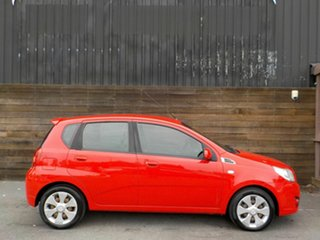 2009 Holden Barina TK MY10 Red 4 Speed Automatic Hatchback.