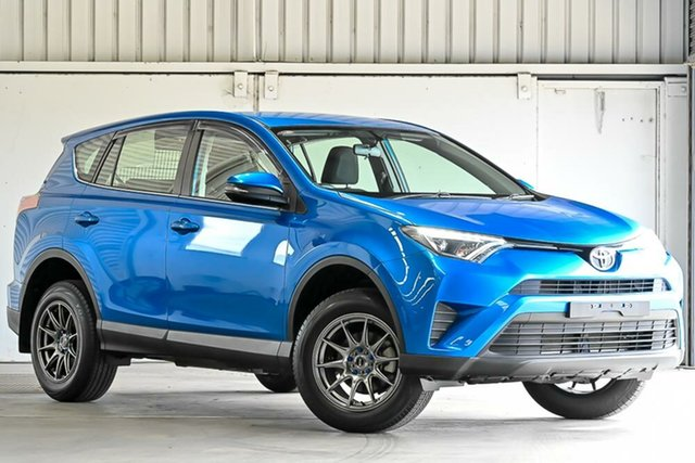 Used Toyota RAV4 ZSA42R GX 2WD Laverton North, 2017 Toyota RAV4 ZSA42R GX 2WD Blue 7 Speed Constant Variable Wagon