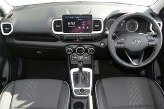 2020 Hyundai Venue QX.V3 MY21 Elite Intense Blue 6 Speed Automatic Wagon