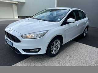 2016 Ford Focus LZ Trend White 6 Speed Automatic Hatchback