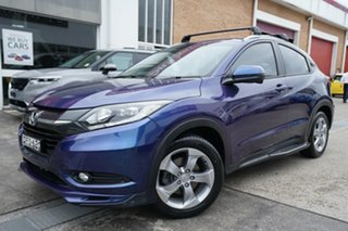 2015 Honda HR-V MY15 Limited Edition Blue 1 Speed Constant Variable Hatchback.