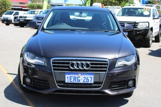 2012 Audi A4 B8 8K MY12 Multitronic Grey 8 Speed Constant Variable Sedan.