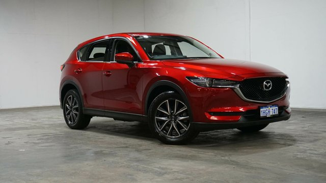 Used Mazda CX-5 KF4W2A GT SKYACTIV-Drive i-ACTIV AWD Welshpool, 2018 Mazda CX-5 KF4W2A GT SKYACTIV-Drive i-ACTIV AWD Red 6 Speed Sports Automatic Wagon