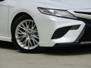 2018 Toyota Camry GSV70R SL White 8 Speed Sports Automatic Sedan.