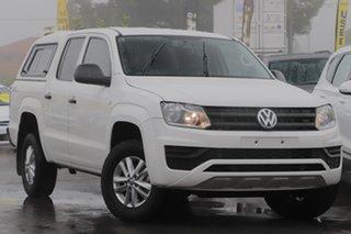 2017 Volkswagen Amarok 2H MY18 TDI420 4MOTION Perm Core White 8 Speed Automatic Utility.