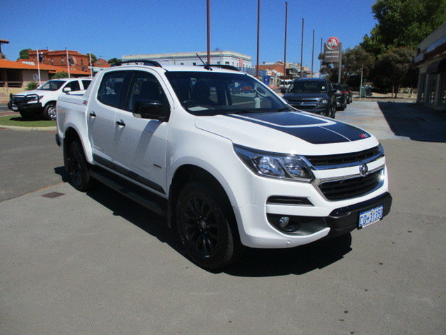 Used Holden Colorado RG MY18 Z71 Katanning, 2018 Holden Colorado RG MY18 Z71 White 6 Speed Automatic Dual Cab