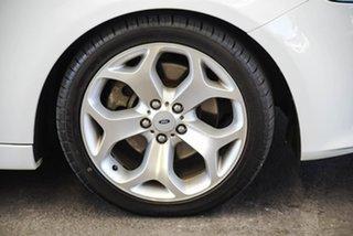 2012 Ford Falcon FG MK2 XR6T White 6 Speed Auto Seq Sportshift Sedan