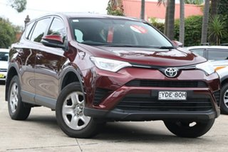 2016 Toyota RAV4 ZSA42R MY16 GX (2WD) Deep Red Continuous Variable Wagon.