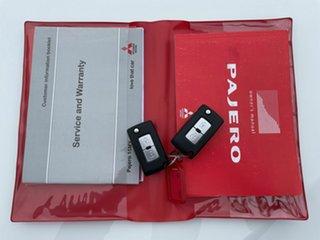 2014 Mitsubishi Pajero NX MY15 GLX White 5 Speed Automatic Wagon