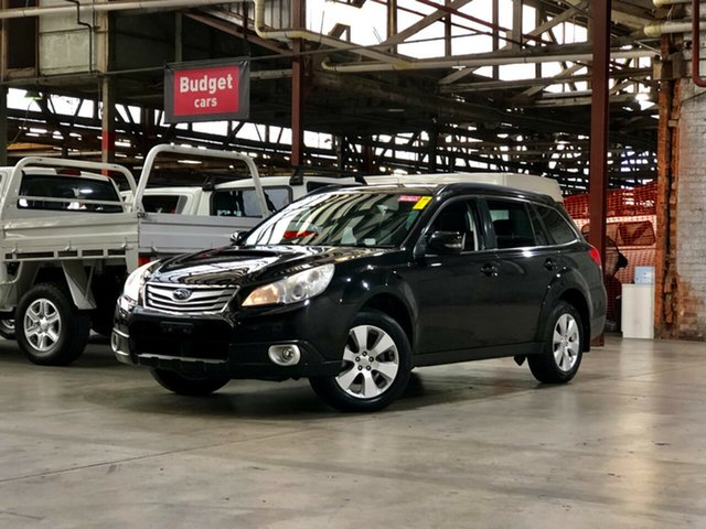 Used Subaru Outback B5A MY10 2.0D AWD Premium Mile End South, 2010 Subaru Outback B5A MY10 2.0D AWD Premium Black 6 Speed Manual Wagon