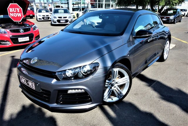 Used Volkswagen Scirocco 1S MY15 R Coupe DSG Seaford, 2014 Volkswagen Scirocco 1S MY15 R Coupe DSG Grey 6 Speed Sports Automatic Dual Clutch Hatchback