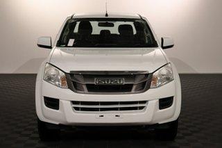 2016 Isuzu D-MAX MY15 SX Crew Cab White 5 speed Automatic Utility.