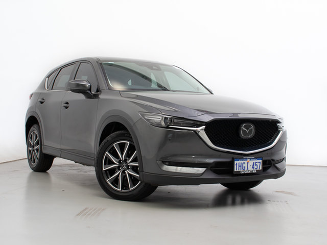 Used Mazda CX-5 MY17.5 (KF Series 2) Akera (4x4), 2018 Mazda CX-5 MY17.5 (KF Series 2) Akera (4x4) Grey 6 Speed Automatic Wagon
