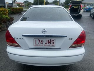 2004 Nissan Pulsar N16 S2 ST White 4 Speed Automatic Sedan
