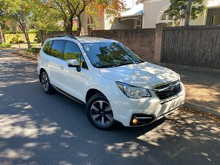 2017 Subaru Forester S4 MY18 2.0D-L CVT AWD Crystal Pearl 7 Speed Constant Variable Wagon.