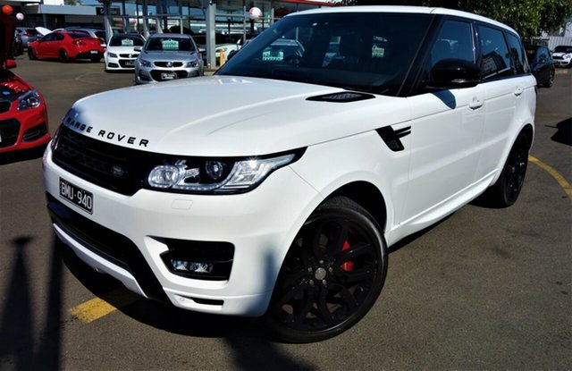 Used Land Rover Range Rover Sport L494 MY15 HSE Dynamic Seaford, 2014 Land Rover Range Rover Sport L494 MY15 HSE Dynamic White 8 Speed Sports Automatic Wagon
