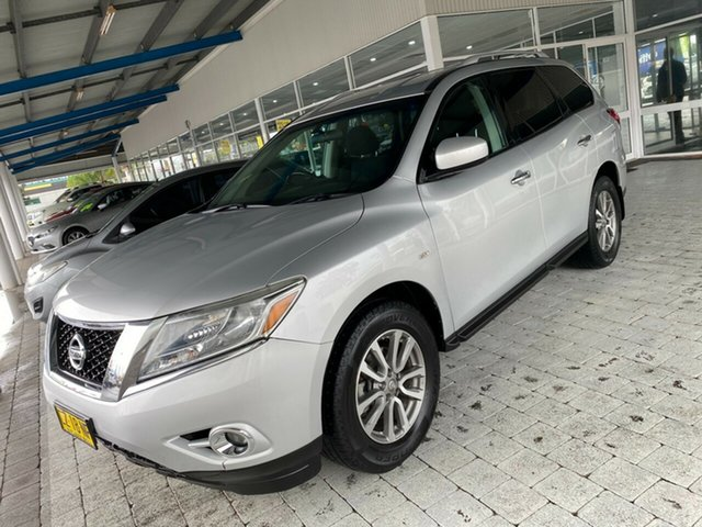 Used Nissan Pathfinder ST Taree, 2013 Nissan Pathfinder ST Silver Constant Variable Wagon