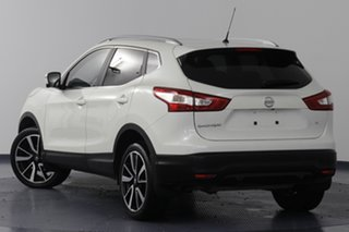 2017 Nissan Qashqai J11 TI White Continuous Variable Wagon