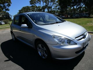 2004 Peugeot 307 XSR Silver 5 Speed Manual Hatchback