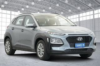 2019 Hyundai Kona OS.3 MY20 Active 2WD Silver 6 Speed Sports Automatic Wagon.