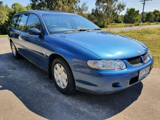2001 Holden Commodore VX Executive Blue Automatic Wagon.