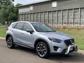 2016 Mazda CX-5 MY15 GT (4x4) Silver 6 Speed Automatic Wagon.