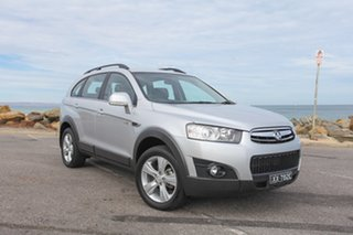2011 Holden Captiva CG Series II 7 AWD CX Silver 6 Speed Sports Automatic Wagon.