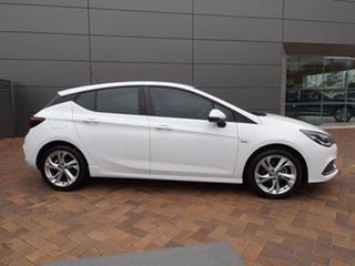 2016 Holden Astra BK MY17 RS White 6 Speed Manual Hatchback.