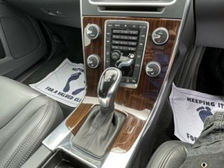 2014 Volvo S60 F Series MY14 D4 Geartronic Luxury Blue 6 Speed Sports Automatic Sedan