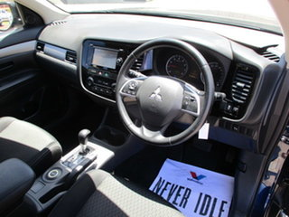 2014 Mitsubishi Outlander 111 MY14 ES Blue Automatic Wagon